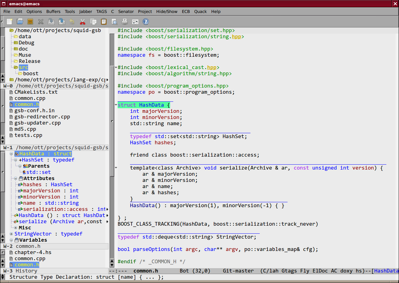 Collection of Emacs Development Environment Tools Homepage